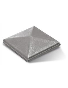 RollingCenter® Kryt stĺpika na naváranie, štvorcový surový
