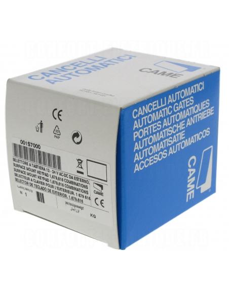 Came S7000 povrchová kódovacia klávesnica