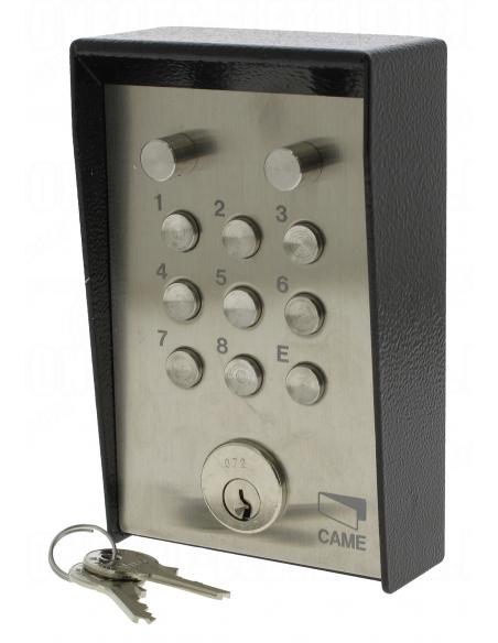 CAME S5000 povrchová kódovacia klávesnica s osvetlením