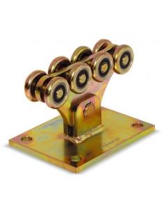 RollingCenter® Vozík s 8 kolieskami priemer 50 pre samonosné brány