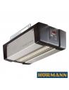 Pomocou tohto pohonu spoločnosť Hörmann vytvorila vysoko kvalitný otvárač brány. Mimoriadna kombinácia rýchlosti a pohodlia vás fascinuje. Model SupraMatic aj vďaka svojej rýchlosti otvárania až do 25cm/s prináša množstvo komfortných funkcií, ako ječiastoťné otvoreniepre vetranie garáže alebo samostatne zapínateľné osvetlenie.