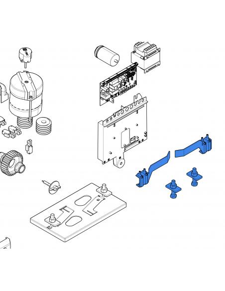 CAME BX/BK mechanické koncové dorazy
