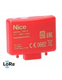 NICE OXI-LR 4-kanálový interný prijímač, obojsmerný, dlhý dosah