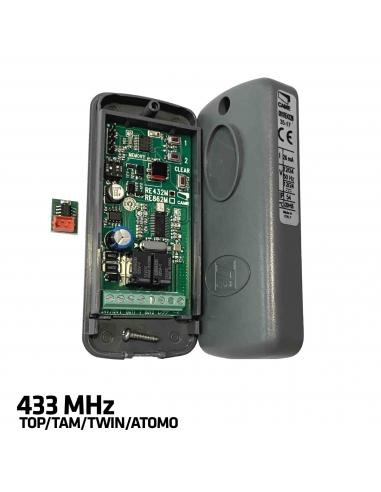 CAME RE432M 2-kanálový externý prijímač