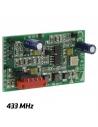 interná karta prijímača 433 MHz kompatibilná s pohonmi CAME s kartou nikdy nemanipulujte pod napätím ak potrebujete iný náhradný diel CAME, neváhajte sa informovať individuálne