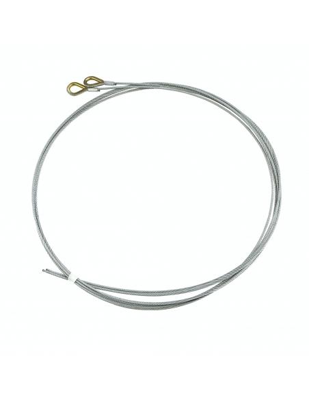 Hörmann Drôtené lanko 3 mm pre kovanie N, torzné pružiny