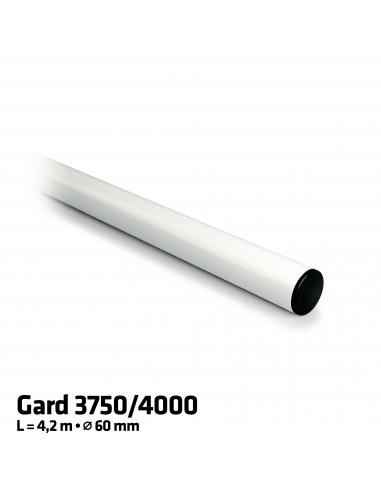 CAME G0402 okrúhle hliníkové rameno závory 4,2 m