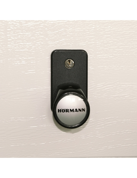 Hörmann Sada madiel čierny plast s polcylindrom 42,5 mm