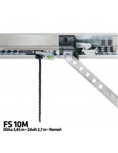 Hörmann 1-dielna vodiaca koľajnica FS 10 M