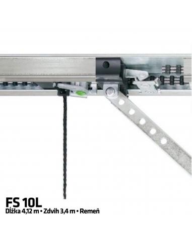 Hörmann 1-dielna vodiaca koľajnica FS 10 L