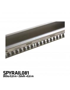 NICE SPYRAIL081 predĺženie vodiacej koľajnice 0,8m