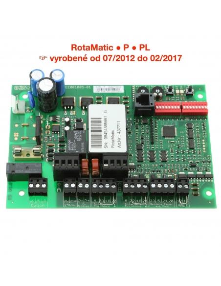 Hörmann riadiaca elektronika RotaMatic / P / PL od 2012 do 2017