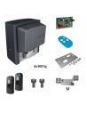 nový model 2019 BX708AGS sada 230 V pre posuvné brány do 800 kg pohon spomaľuje pred koncovými polohami nový typ riadiacej elektroniky ZBX7N s 2-miestnym displejom kompatibilnýs kartami R700/R800 pre priame pripojenie kódovacích klávesníc alebobezkontaktných RFID čítačiek kompatibilný s bezdrôtovým príslušenstvom RIO-CONN - majáky, fotobunky možnosť pripojiť RGP1 modul pre šetrenie energie v pohotovostnom režime