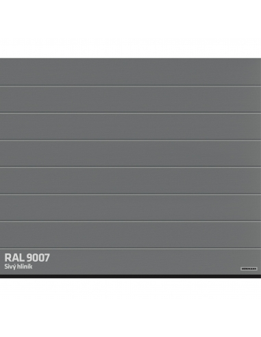 Hörmann RenoMatic Woodgrain Prelis M RAL 9007