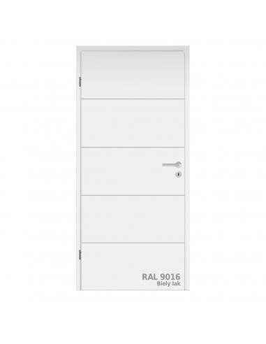 Dvere DesignLine Stripe 15 s falcom, RAL 9016