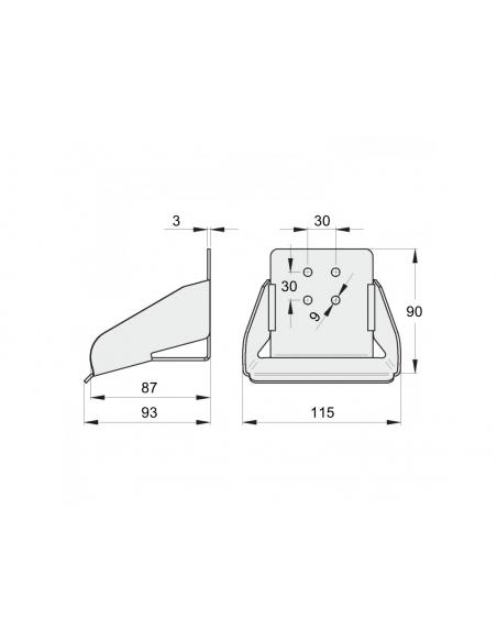 FAC® Kit séria 800 pre samonosnú posuvnú bránu max. 6000 (prejazd 4000)