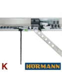 Hörmann SupraMatic P (hlava pohonu) + EL101 + koľajnica K