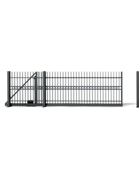 Komponenty plotových brán