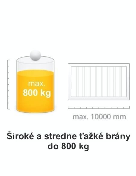 Brána do 800 kg