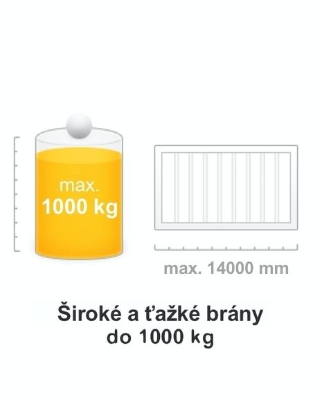 Brána do 1000 kg