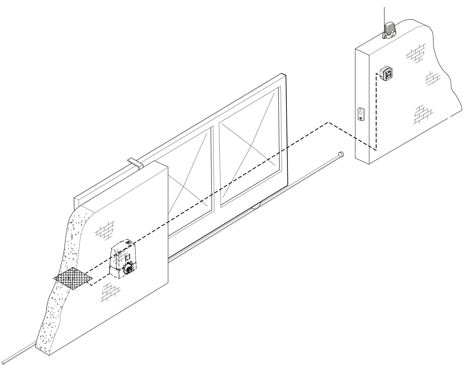 CAME Bluetooth snímač inštalácia