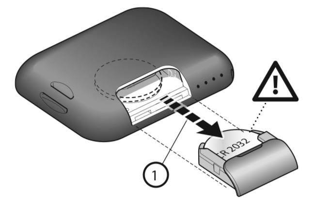 NICE FLO2RE výmena batérie