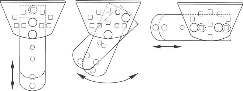 NICE PLA14 nastaviteľná konzola