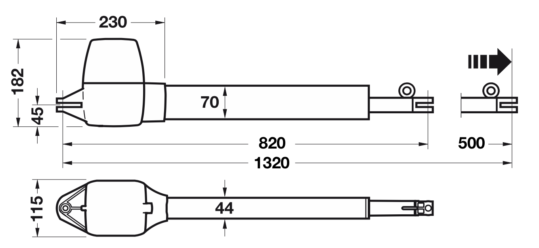 RotaMatic P rozmery