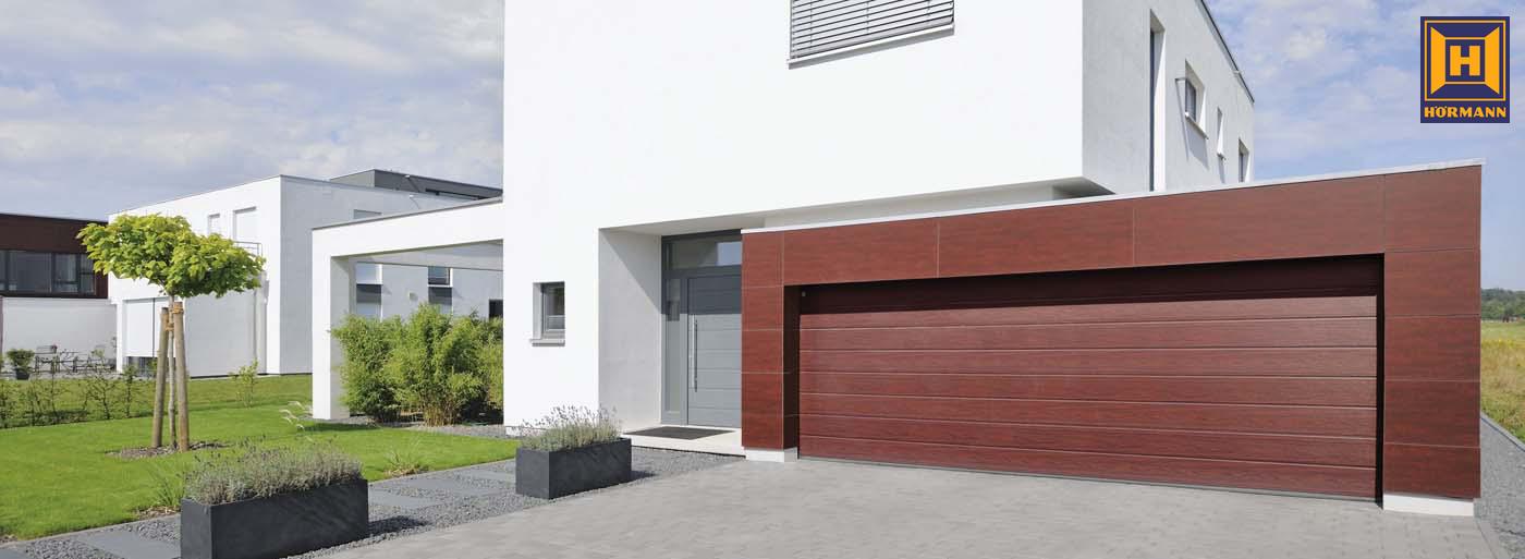 Sekcionálne garážové brány Hörmann