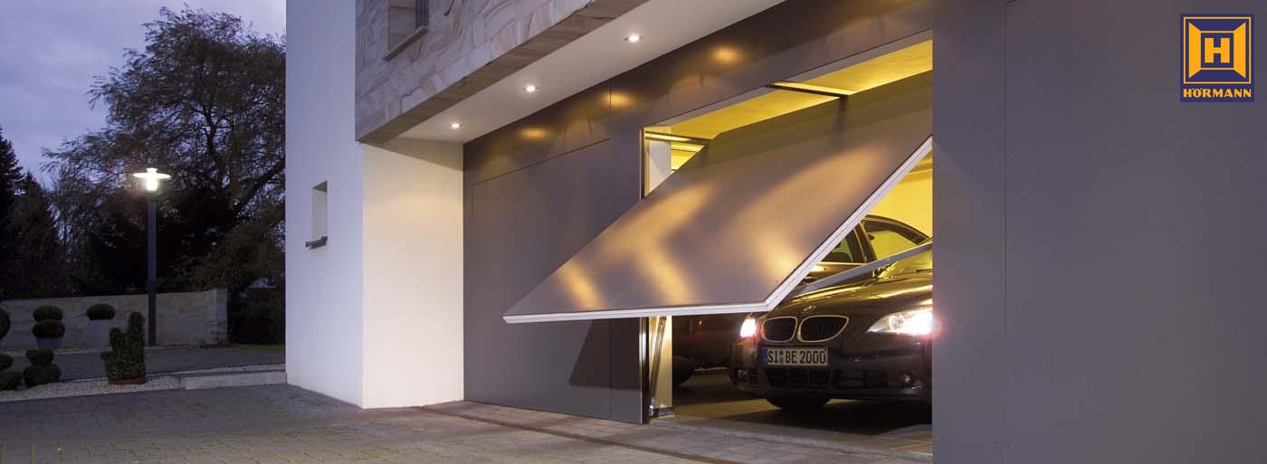 Výklopné garážové brány Hörmann