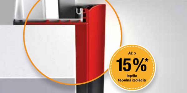ThermoFrame: Zlepšenie izolačných vlastností garážovej brány Hörmann až o 15%